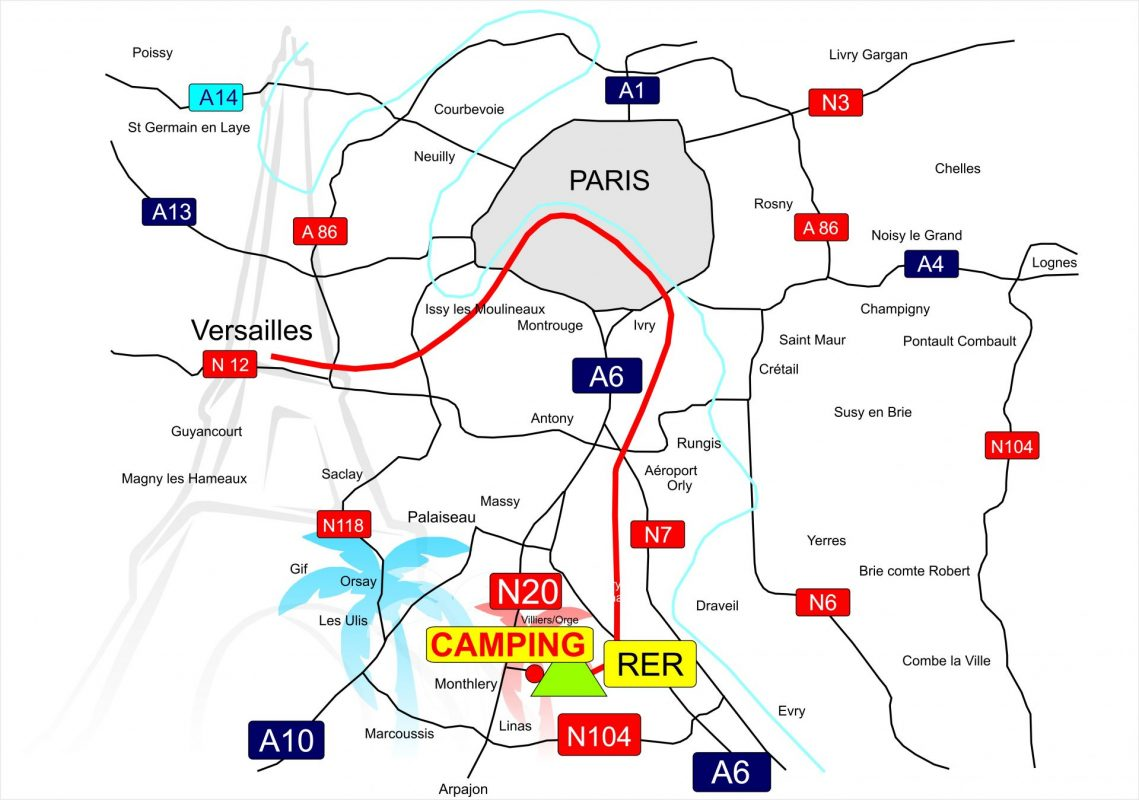 Infos Tarifs Camping Paris Beau Village